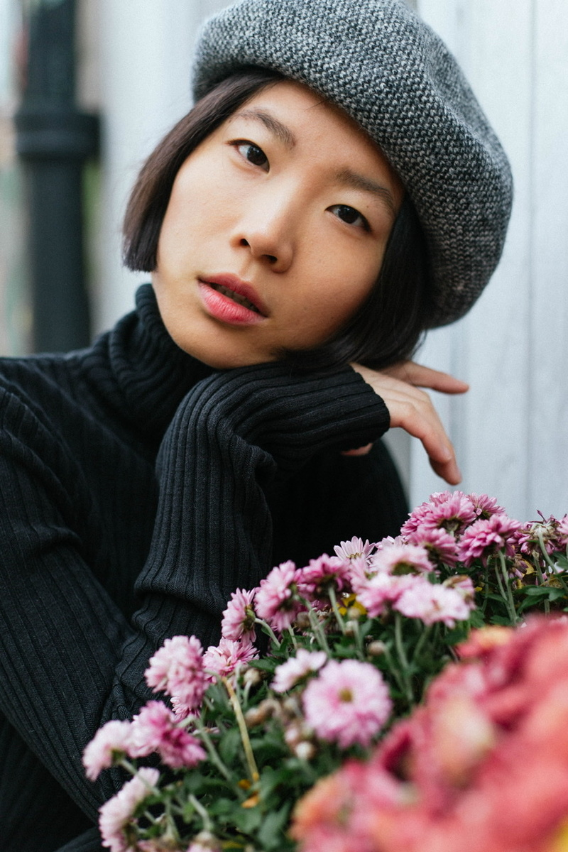 lovely asian, chinese woman, fashion model