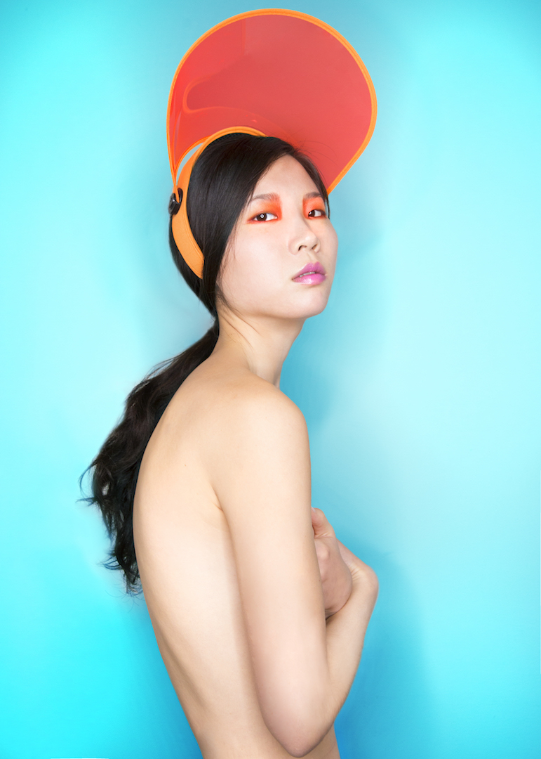 Yuqi Luo, colorful photo, chinese model, asian babe